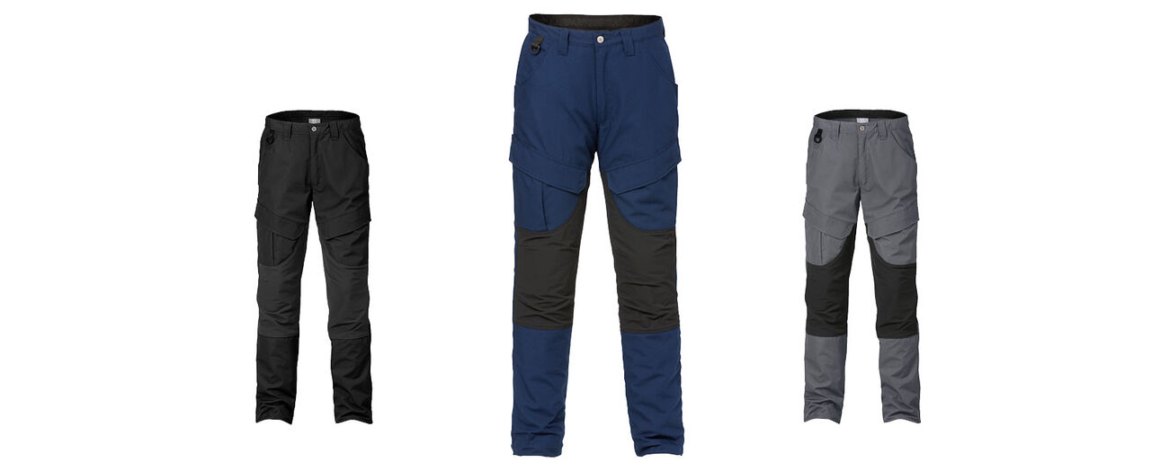 SERVICE STRETCH TROUSERS 2526 PLW, new colour navy blue